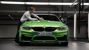 modified bmw m4 dtm champ drives home bmw m4 upgraded with m performance bits