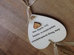 vow renewal wording personalised gift chic heart plaque renewing renewel wedding vows gift