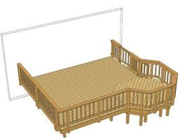 64 best deck plans images on pinterest backyard decks deck