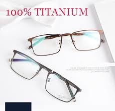 spectacle frames titanium eyeglasses fashion brand designer eyeglasses frame