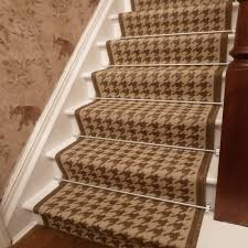 Beige Runner Rug Beige Stair Runner Rug Houndstooth Free Delivery Plus A No