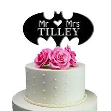 batman wedding topper made in usa personalized cake toppers sugaryeti