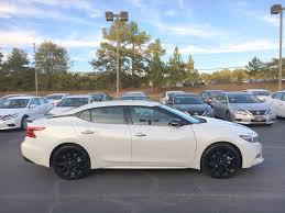 white nissan car 2017 nissan maxima sr midnight edition pearl white nissan of