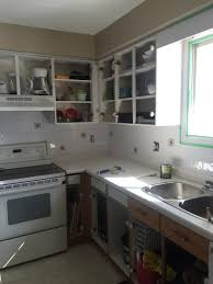 How To Paint Tile Backsplash In Kitchen by Chalk Paint Kitchen Makeover How To Paint Tile U2014 The Penny Drawer
