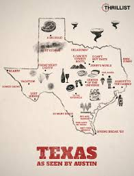 Texas Map Austin Texas As Seen By Austin Thrillist