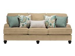 Art Van Living Room Furniture by Living Room Brown Microfiber Art Van Darcy Cave Loveseat Brown