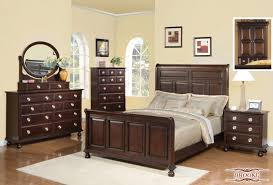 Meridian Bedroom Furniture by Meridian Brooke 4 Piece Panel Bedroom Set In Espresso