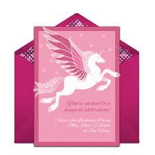 free pegasus invitations pegasus unicorn party and birthdays