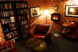 Small Home Theater Ideas Man Cave Small Room Ideas Dark Brown Leather Chair Pads Classic