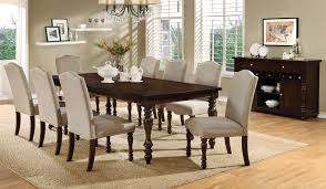 10 Piece Dining Room Set Hurdsfield Transitional Style 9 Piece Dining Table Set