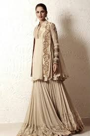 party wear double shirt frock with sharara dress shoots by khawar
