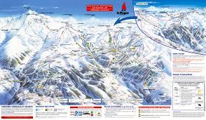 Vail Village Map Les Coches Montchavin Piste Maps And Ski Resort Map Powderbeds