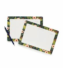 Decorative Desk Pads And Blotters by Jardin Weekly Desk Pad By Rifle Paper Co Made In Usa