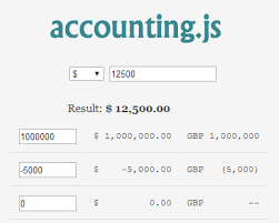 format date javascript jquery accounting js format money currency in javascript jquery plugins