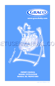 graco baby swing silhouette swing isps061aa user u0027s manual download