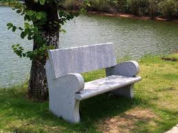 Bench Molds - concrete park bench garden wooden photo on astounding commercial