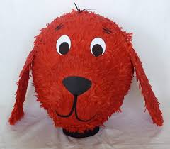 Clifford Big Red Dog Halloween Costume Pinata Clifford Big Red Dog Dalepinatas Etsy 60 00