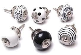 kitchen cabinet knobs black and white zoya s 12 mixed black white cupboard drawer knobs kitchen knob cabinet k 57