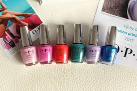 nail polish opi fiji collection for spring summer 2017