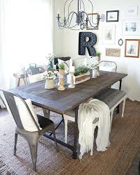 Black Farmhouse Table Dining Table Dining Table Building Room Rustic Legs Quiznos Old