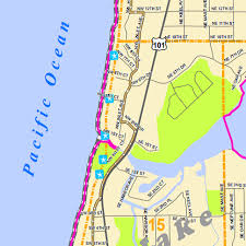 lincoln city map works city of lincoln city or