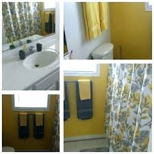 yellow and grey bathroom decorating ideas yellow and grey bathroom set about home decor