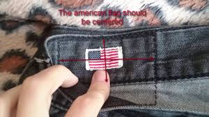 American Flag Jeans Real Vs Fake True Religion Jeans Youtube