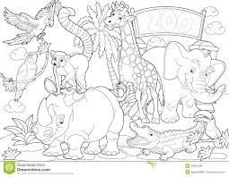 zoo coloring pages preschool homely idea zoo coloring pages free printable for kids preschoolers