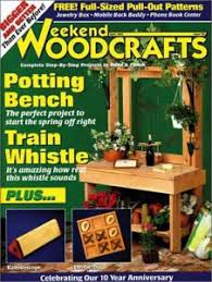 Fine Woodworking Magazine Subscription Deal by Weekend Woodcrafts Magazine Best Subscription Deal On Internet For