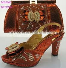 wedding shoes and bags me0066 brown italy design wedding shoes matching bag alibaba china