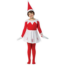 doll dress halloween costume elf on the shelf dress costume for girls buycostumes com