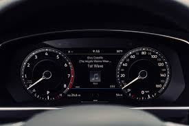 fast volkswagen cars 2018 volkswagen tiguan instrument cluster the fast lane car