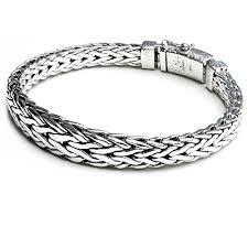 braid hand bracelet images Kham mens 925 sterling silver bracelet hand woven bali style jpg