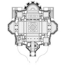 Catholic Church Floor Plans New Liturgical Movement Architectural Design Ukrainian Catholic