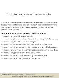 pharmacist sample resume pharmacist resume sample writing tips