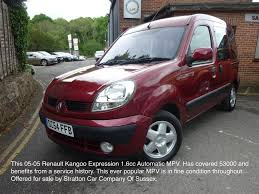 used 2005 renault kangoo expression 16v for sale in east sussex