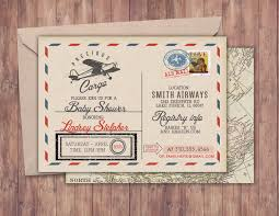 precious cargo baby shower precious cargo invitation baby shower invitation vintage