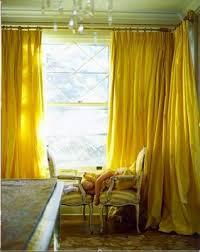 bright yellow curtains u2026