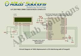 16x2 alphanumeric lcd interfacing with avr atmega32