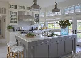 Light Grey Kitchen Cabinets Best 25 Grey Kitchen Island Ideas On Pinterest Kitchen Island