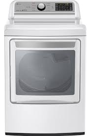 Gas Clothes Dryers Reviews Lg White Super Capacity Gas Dryer Dlg7201we