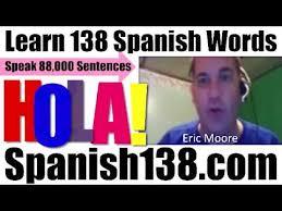 Speak Spanish Meme - learn to speak spanish fluently 100 most common spanish words youtube