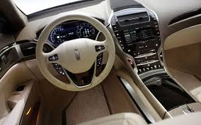 luxury cars interior lincoln mkz luxury sedan widescreen wallpaper collection