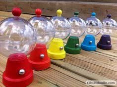 Gumball Party Favors Make Your Own Gumball Machine Centerpiece Or Party Favor Out Of