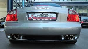 ferrari coupe sound maserati 4200 coupé cambiocorsa 2003 ferrari v8 engine
