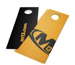 expert door hanger printing m13 graphics
