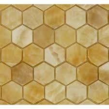 hexagon cream beige stone hexagon tile polished 203187