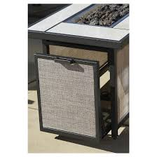 Patio Furniture Conversation Sets by Serene Ridge 5 Piece Aluminum Outdoor Patio Furniture Conversation