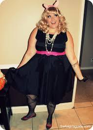 Sally Halloween Costume Size Style Piggy Size Costume Idea Fatshionistas