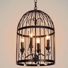 Birdcage Pendant Light Chandelier Birdcage Pendant Light Chandelier Tequestadrum
